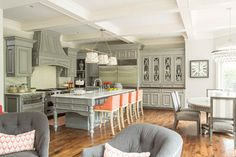 Calamus Circle Residence - transitional - kitchen - minneapolis - Martha O'Hara Interiors