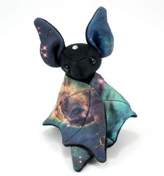 Galaxy bat plush