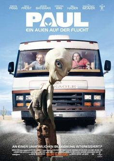 Paul - Ein Alien auf der Flucht Amazon Instant Video ~ Simon Pegg, cooool, lustig , gut
