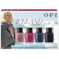 OPI Iceland Infinite Shine Nail Lacquer Collection Mini 4 pk