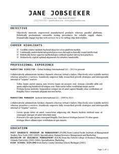 buy resume templates resume template and cover letter template - Buy Resume Template