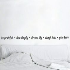 Vinilos on pinterest frases wall decal sticker and wall for Vinilo frases dormitorio