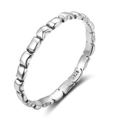 Fashion OL Jewelry 925 Sterling Silver Ring Width Female Party Rings For Women Gift For Girlfriend Great Gifts For Girlfriend, Silver Jewelry, Silver Rings, Party Rings, Wedding Band Sets, Types Of Rings, Unique Rings, Personalized Jewelry, Ring Designs