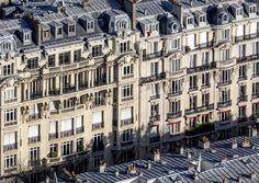 Immeubles haussmanniens Paris Grand Paris, Architecture, Building, Amor, Monuments, France, Parks, Cities, Real Estate Investing