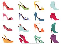 shoe color and style design
