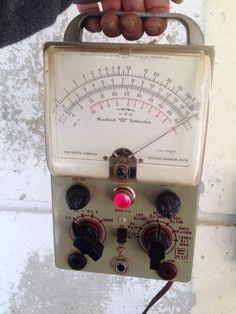 Vintage Heathkit Vacuum Tube Voltmeter Model V-6 Test Meter AS-IS Untested-    eBay
