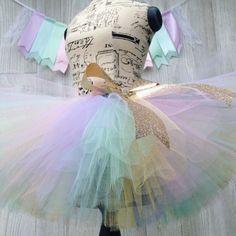 Hey, I found this really awesome Etsy listing at https://www.etsy.com/listing/252501974/unicorn-tutu-sewn-tutu-fluffy-tutu