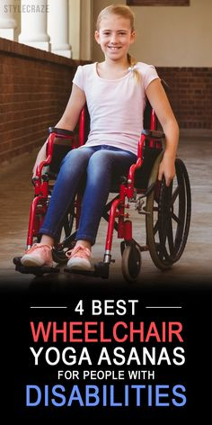 Ever wondered how a physically challenged person can perform yoga? There are simple wheelchair yoga poses that can be done by physically challenged people, which can help them stay in good health and shape.