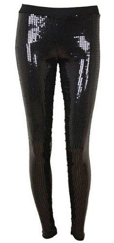 Just One Women's Embellished Sequin Legging Just One. $15.50