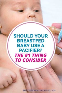 Information about breastfed babies and pacifiers is confusing. Find out what the latest research says about how pacifiers can affect breastfeeding and SIDS. How To Breastfeed Newborns, Breastfeeding Problems, Breastfeeding Support, Pacifier Weaning, Baby Weaning, Baby Tips, Baby Hacks, Best Pacifiers, Lactation Consultant