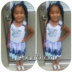 Cute mixed kid