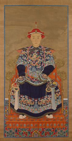 Portrait of Qianlong Emperor As a Young Man Unidentified Artist  Period: Qing dynasty (1644–1911) Date: 19th century Culture: China