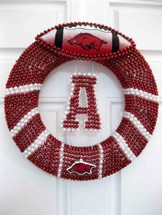 Razorback's on Pinterest   Arkansas Razorbacks, Razorback Wreath ...
