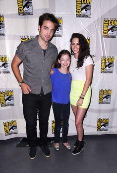 Twilight Cast at Comic Con <3