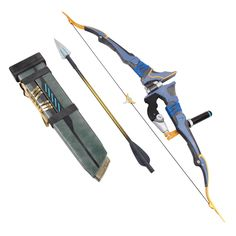 Overwatch Cosplay Prop Hanzo Bow & Arrows & Quiver-in Weapons from…