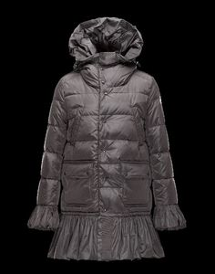 moncler online shop schweiz, monclair Moncler SERRE Damen Mantel Für Sie Granitgrau Polyamid 41456720GV sale