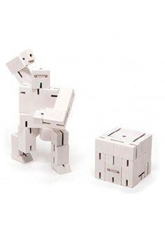 AREAWARE Cubebot Ninjabot Small / White