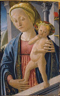 Fra Carnevale - Madonna and Child, 1866