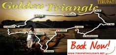 Experience The Best Tour Package With Our Tirupatiholidays - The #Golden_Triangle_Tour_Packages is extremely best #Traveling and touring company that has laid the best route for travelers delight. The destination that this route covers is like Delhi, Agra, Jaipur. These three main cities will be covered during this #Tour Package in reasonable rates. For booking this Tour #Package or for any other details contact us at http://tirupatiholidays.net/golden-triangle-tours.html