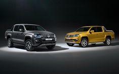 Lataa kuva Volkswagen Amarok, 4k, 2018 autoja, mikit, Katumaasturit, saksan autoja, VW, Volkswagen