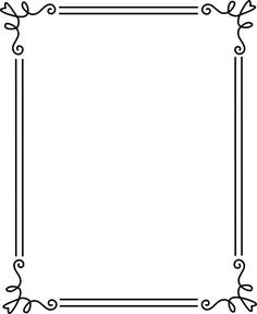 Design clipart frame - pin to your gallery. Explore what was found for the design clipart frame Free Frames And Borders, Boarders And Frames, Simple Borders, Borders For Paper, Page Borders Free, Frame Border Design, Boarder Designs, Page Borders Design, Printable Border