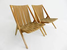 Oak Garden Chairs from Victoria Möbel, Set of 2 Garden Lounge Chairs, Garden Seating, Garden Table, Outdoor Chairs, Outdoor Decor, Italian Furniture Design, Vintage Furniture, Oak Color, Outdoor Garden Furniture