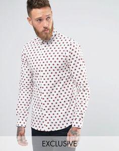 Imagen 1 de Camisa con estampado de estrellas de Noose & Monkey