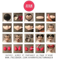 Sugar Modelling Tutorial - Minnie Mouse Head