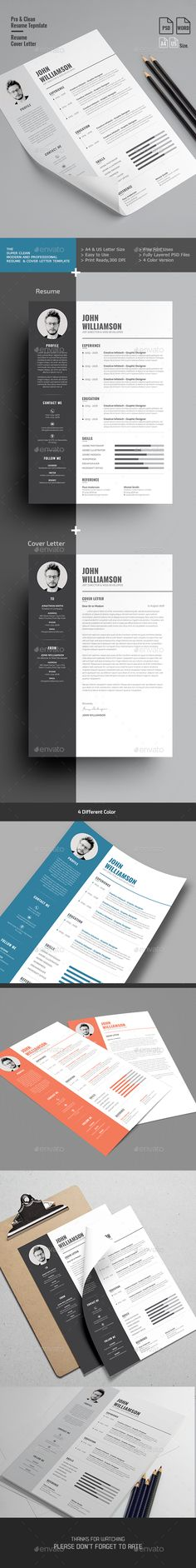 Landscape Resume  Ai Illustrator Resume Cv And Design Resume