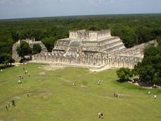 Another view from chitzen itza pyramid