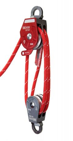 CSR pulleys, rope & carabiners kit for efficient lower & raising in confined space rescue and industrial rope access. Find CSR Pulley System at CMC. Pully System, Cool Things To Build, Serra Circular, Block And Tackle, Kayak Storage, Rope Knots, Tools And Equipment, Pulley, Self Defense