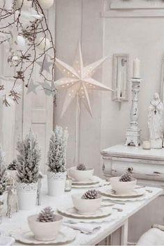 Decoración mesa de Navidad y Fin de Año