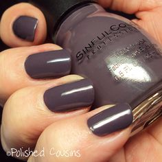 LOVE LOVE LOVE this color! Polished Cousins: SinfulColors Mauvelous
