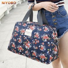 Cheap bag large capacity, Buy Quality women travel bags directly from China travel bag Suppliers: WEIJU 2017 New Fashion Women's Travel Bag Luggage Handbag Floral Print Women Travel Tote Bags Large Capacity Luggage Bags Bags Travel, Travel Bags For Women, Travel Handbags, Fashion Handbags, Fashion Bags, Fashion Women, Hand Luggage Bag, Luggage Bags, Tote Bags
