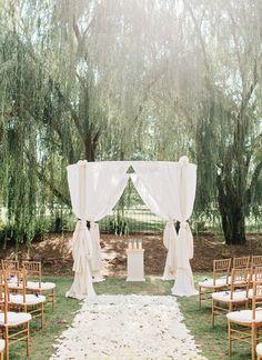 Stunning ceremony