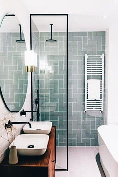 Beautiful master bathroom decor some ideas. Modern Farmhouse, Rustic Modern, Classic, light and airy master bathroom design a few ideas. Bathroom makeover some ideas and master bathroom remodel a few ideas. Diy Bathroom, Bathroom Interior Design, Bathroom Makeover, Bathroom Mirror, Modern Bathroom, Bathroom Renovations, Luxury Bathroom, Bathroom Decor, Small Bathroom Remodel
