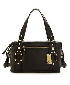 Marc Fisher Handbag, Trunk Show Boxy Satchel - Marc Fisher - Handbags & Accessories - Macy's