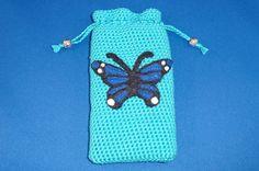 crochet phone case/ gehaakt telefoon hoesje