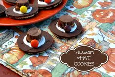 Mommy's Kitchen: Thanksgiving Sugar Cookies & Pilgrim Hat Cookies {Keeping Kids Busy this Holiday}