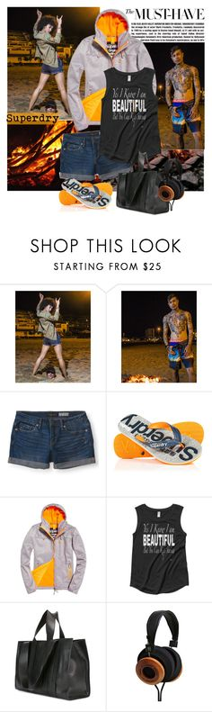 """Superdry"" by polybaby ❤ liked on Polyvore featuring Superdry, Aéropostale, Corto Moltedo and thenightisyoung"