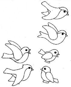 Üvegmatrica minták, színezők, kifestők, sablonok, üvegfestés, állatok, madarak Spring Crafts For Kids, Summer Crafts, Art For Kids, Spring Birds, Spring Art, Winter Kids, Winter Art, Bird Crafts, Craft Stick Crafts