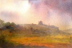 John Martin, Abstract Landscape, Landscapes, Paintings, Inspiration, Paisajes, Biblical Inspiration, Scenery, Paint