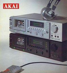 Non Stop Autoreverse AKAI CS-F33R (1981) www.1001hifi.com