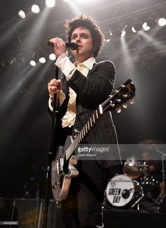 Billie Joe Armstrong of Green Day performs onstage at House Of Blues on April 16, 2015 in Cleveland, Ohio.