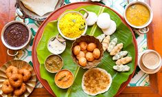 The Breakfast Spread at Chidambara Vilas in Chettinad