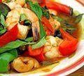 Stir-fried Thai Basil Shrimp