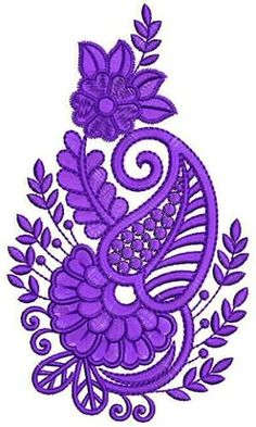 (49) Одноклассники Border Embroidery Designs, Free Machine Embroidery Designs, Embroidery Applique, Floral Embroidery, Embroidery Stitches, Kutch Work Designs, Quilling Patterns, Quilting, Paisley