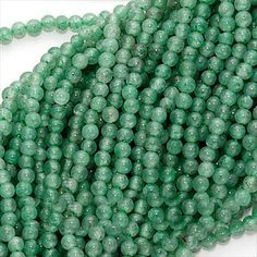 CLEARANCE 40 OFF LIGHT GREEN AVENTURINE SMOOTH ROUND BEADS 2MM 16 INCH STRAND from beadaholique.com