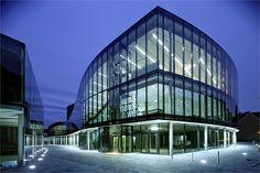 Cultural Centre Weiz - Kunsthaus Weiz - Weiz, Австрия - 2005 - Dietmar Feichtinger Architectes