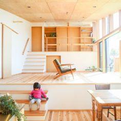 HAG /スキップハウス Loft, Interior, House, Furniture, Home Decor, Decoration Home, Indoor, Home, Room Decor
